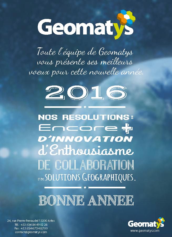 Geomatys vous souhaite une bonne année 2016 !